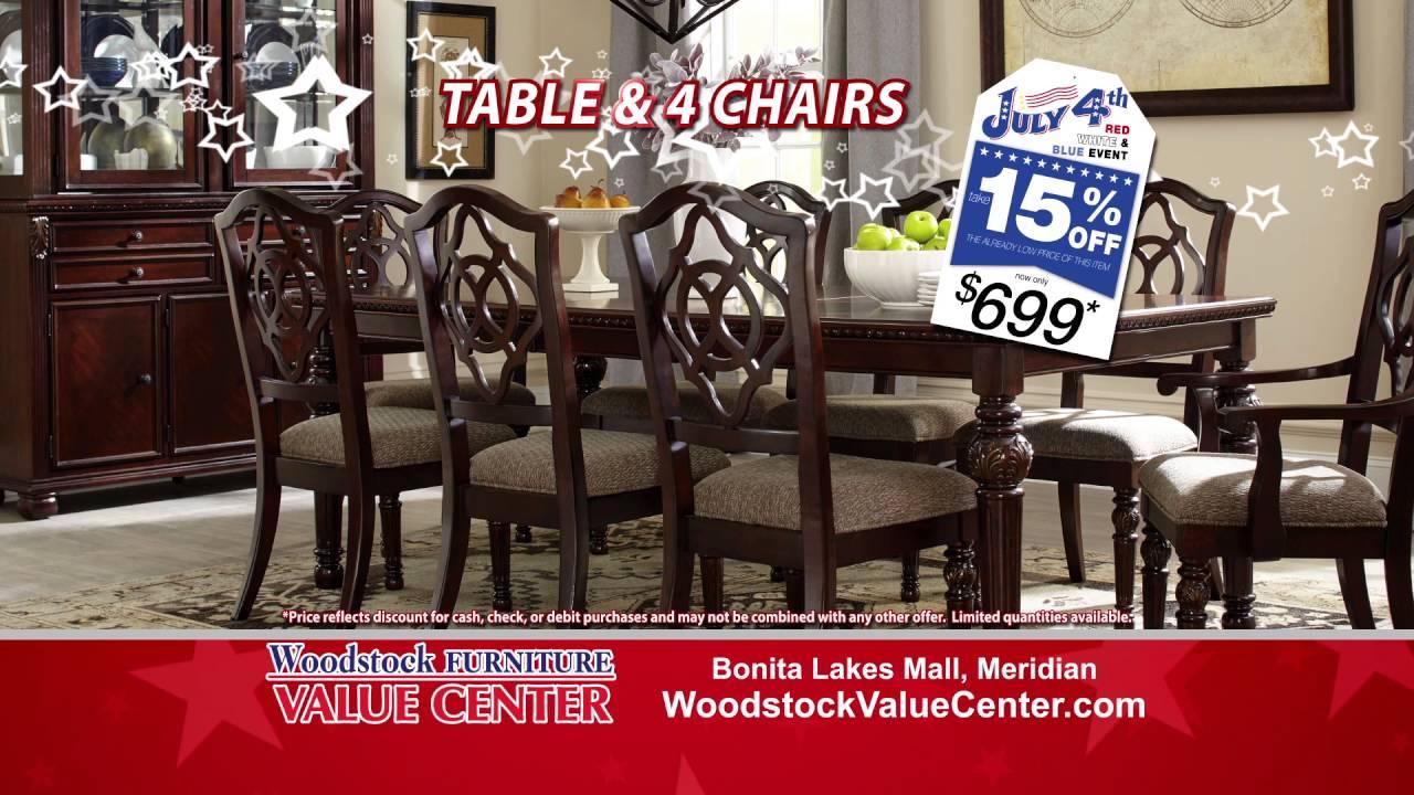 Woodstock Furniture Value Centeru0027s Red White And Blue Sale