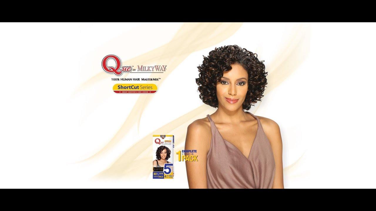 Que By Milky Way Oprah 5 Piece Quick Weavewig Youtube