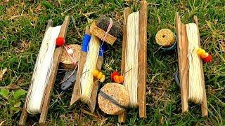Рыбалка на закидушки (Астраханский макушатник) Ловля сазана на жмых, кукурузу и бойлы