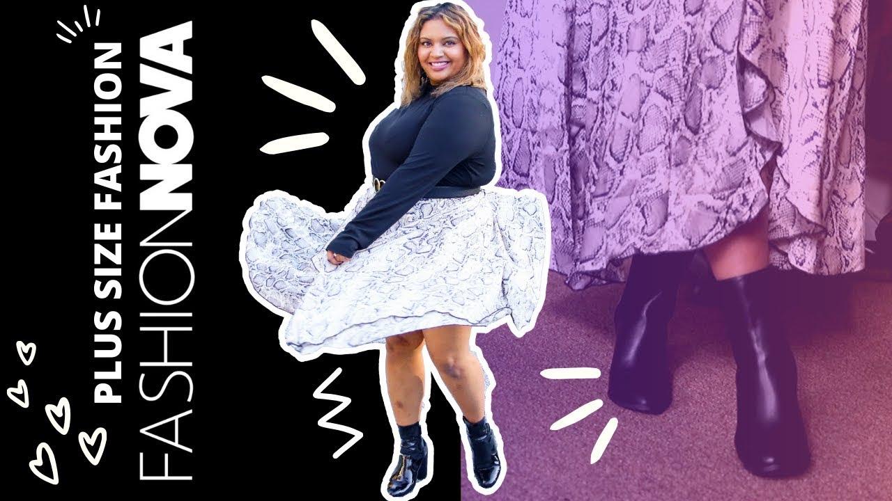 [VIDEO] - Fashion Nova Curve Haul - Size Fall to Winter Lookbook 1