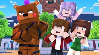 Minecraft Daycare Dimensions - VISITING FREDDY LAND! (Minecraft Roleplay)