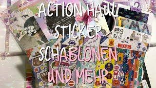 Action Haul #2 April 2019 mit neuen Sticker Schablonen und mehr