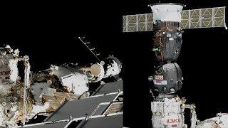 Soyuz MS 13 Relocation From Zvezda To Poisk