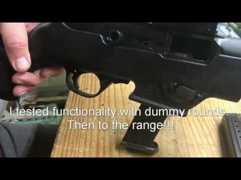 Ruger PC9, MP mag conversion - Long Island Gun Club