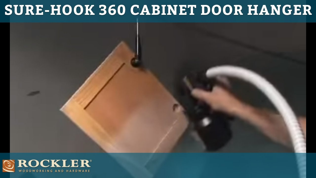 Rockler Sure Hook 360 Cabinet Door Hanger Youtube