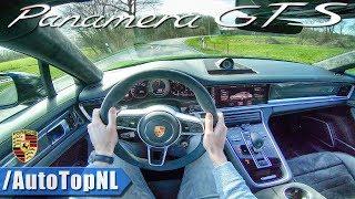 2019 Porsche Panamera GTS 4.0 V8 BiTurbo POV Test Drive by AutoTopNL