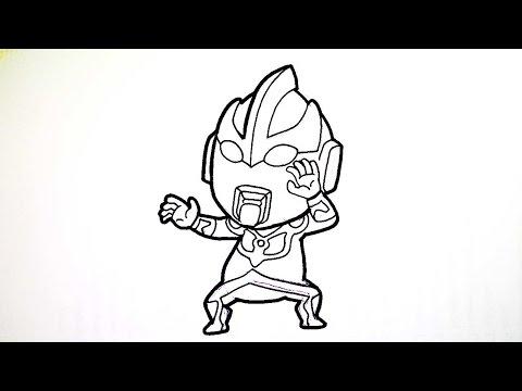 วาดการ์ตูน กันเถอะ สอนวาดรูป การ์ตูน อุลตร้าแมนกิงกะ จาก การ์ตูน อุลตร้าแมนกิงกะ