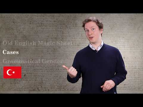 Old English Grammar Byte 1: Cases and gender