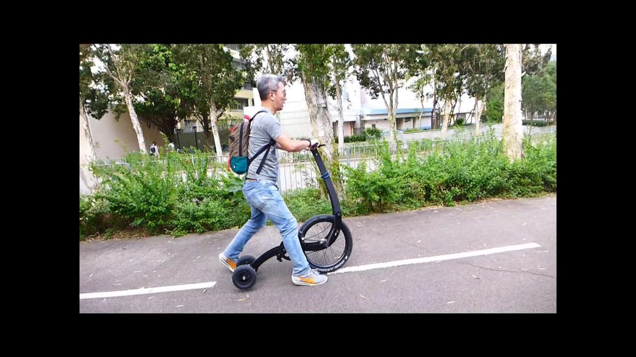 Halfbike 2 test ride - November 5. 2016 - YouTube