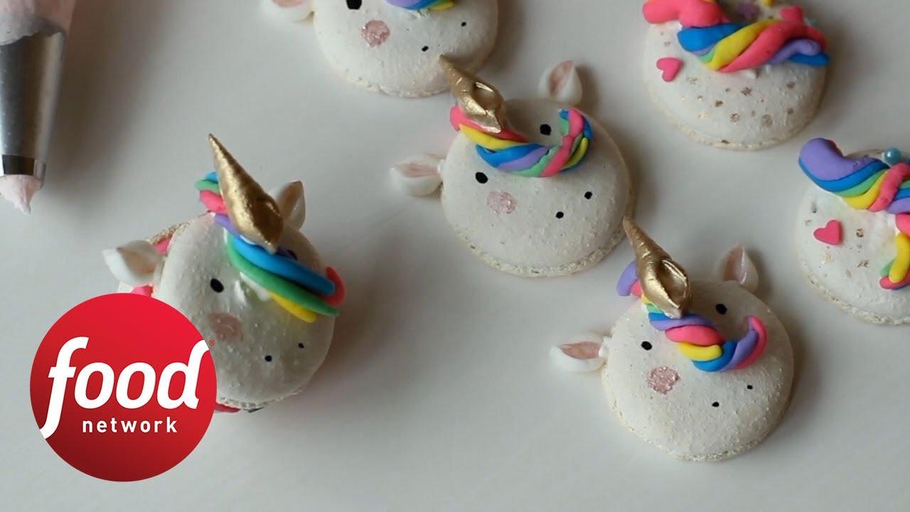 Unicorn Macarons Food Network