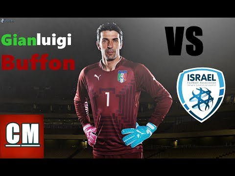 Gianluigi Buffon vs Israel - World Cup Qualifiers - 480p (05/09/3016) by Cem C.
