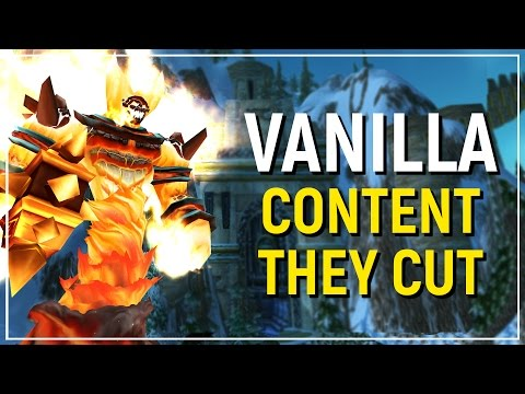 The Content That Was Cut from Vanilla World of Warcraft | Top 10