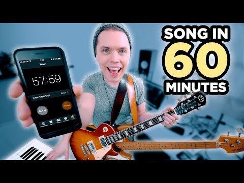 I Tried To Write A Hit Song In 60 Minutes