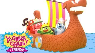 Yo Gabba Gabba 216 - Boat | Full Episodes HD | Season 2