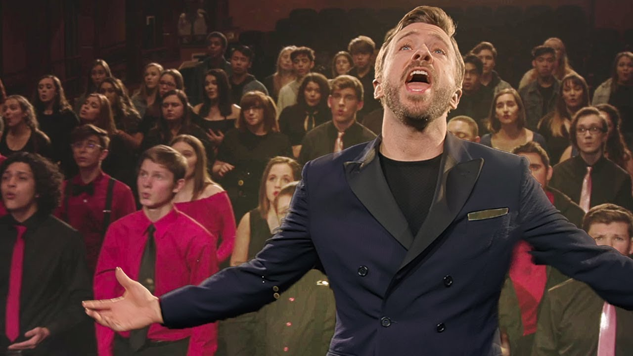200 Children Sing A Cappella Rendition Of 'You Raise Me Up