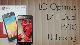 LG Optimus L7 II Dual P710 Unboxing - PhoneRadar