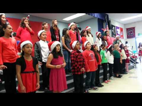 Moy singing in the choir..!!