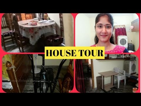Simple House Tour  in telugu |House arranging and organization ideas and tips | simple house tour