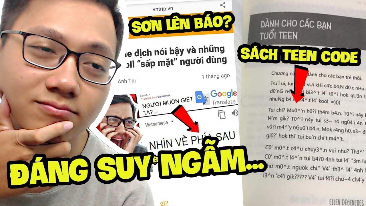 TEEN CODE ĐƯỢC ĐƯA VÀO SÁCH VIỆT NAM! – Thứ 7 Cùng Sơn Đù (Sơn Đù Vlog Reaction)