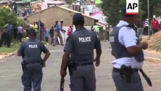 Rubber bullets fired as striking wine workers clash with police