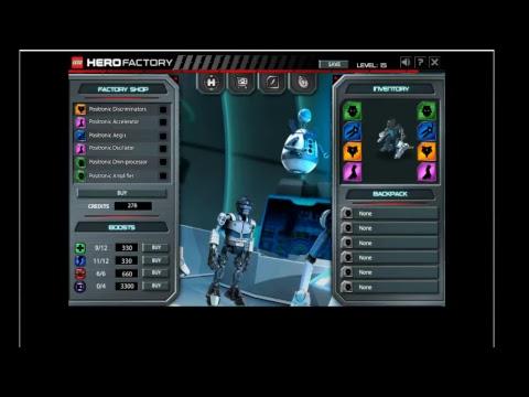 Cw Plays Hero Factory Mission Von Nebula Youtube