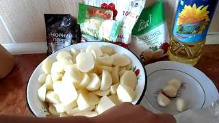 Печеная картошка в мультиварке Redmond 4506