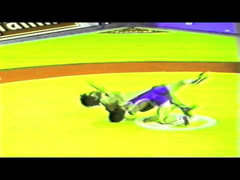 1989 Senior World Championships: 52 kg Constanin Corduneanu (ROU) vs. South Korea