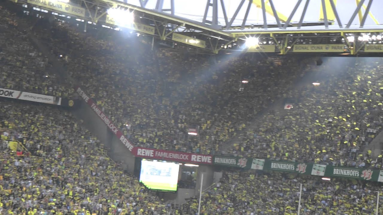 BVB - HSV Stimmung Südtribüne Borussia Dortmund Hamburg 3-1