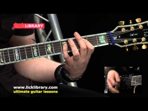 The Day That Never Comes  Metallica Performance  Andy James  Licklibrary
