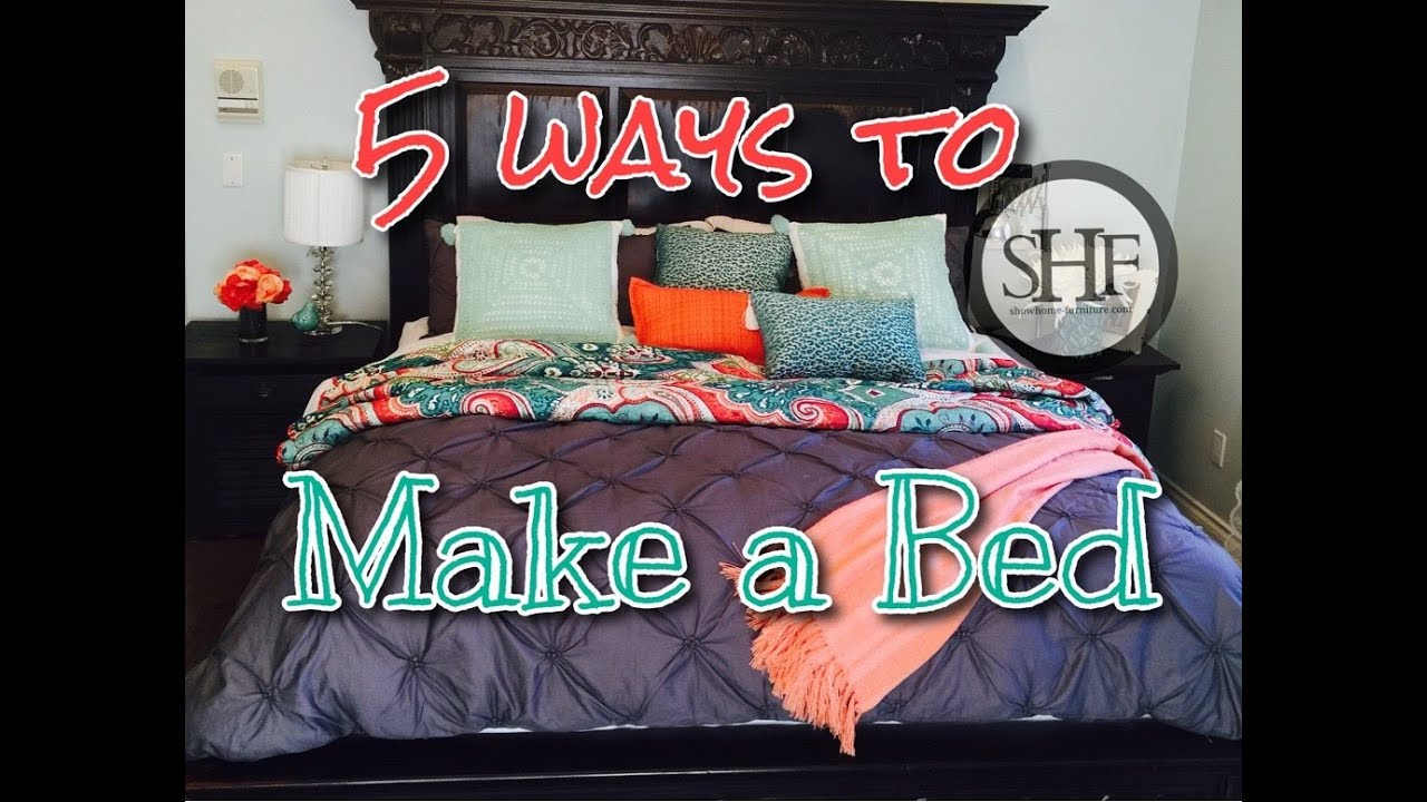 How To Arrange Pillows On Bed