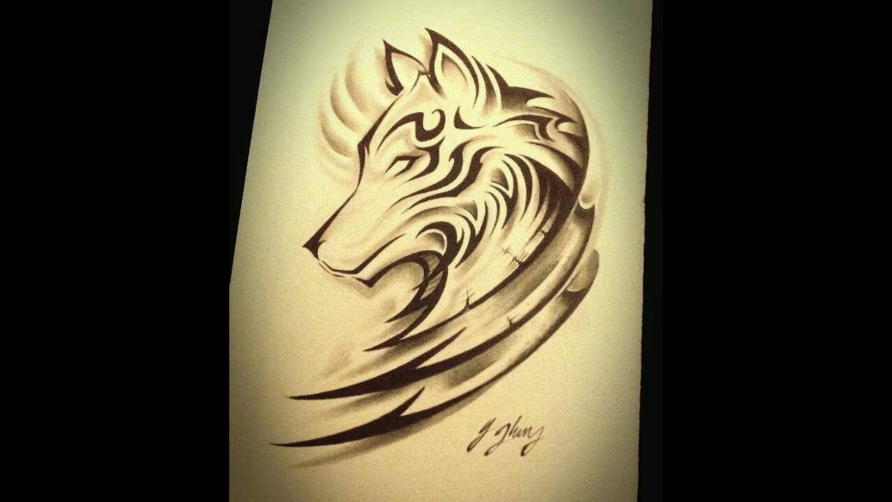 Tribal Wolf Tattoo Designs For Men And Women Youtube