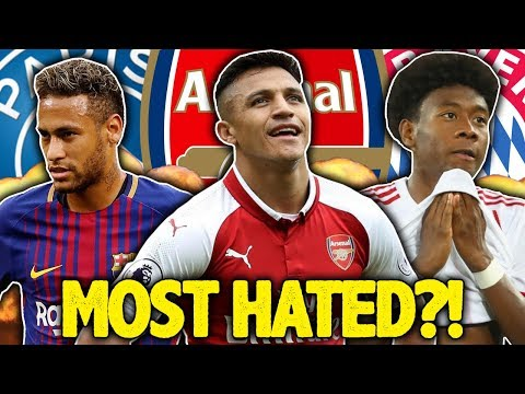 The Most HATED Player In World Football Is… | #SundayVibes
