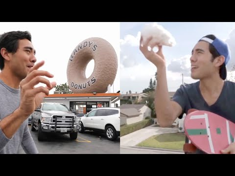 BEST 100 Zach King MAGIC TRICKS That You Can Watch Without Getting Bored !