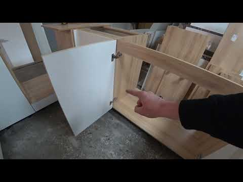 Как сделать тумбу под мойку на кухню своими руками видео