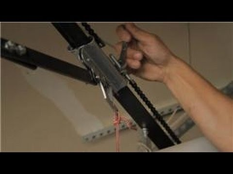 how to adjust garage door openerGarage Door Help  How to Adjust the Chain on a Garage Door Opener