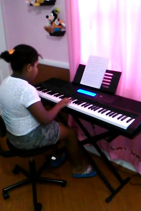 Michelle Playing Piano