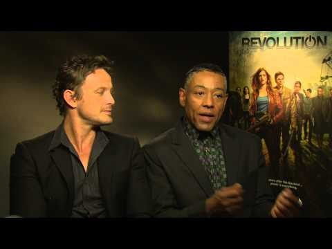 David Lyons and Giancarlo Esposito talk Revolution