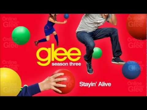 Stayin' Alive - Glee [HD Full Studio]