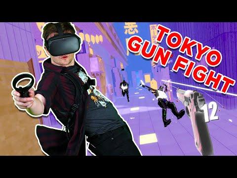 Pistol Whip Akuma Update!!! Oculus Quest Mixed Reality Level Hard Full Playthrough