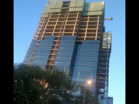 CHINA'S SUPER FAST HIGH RISE HOTEL CONSTRUCTION IN CHINA TV NEWS REVIEWS !