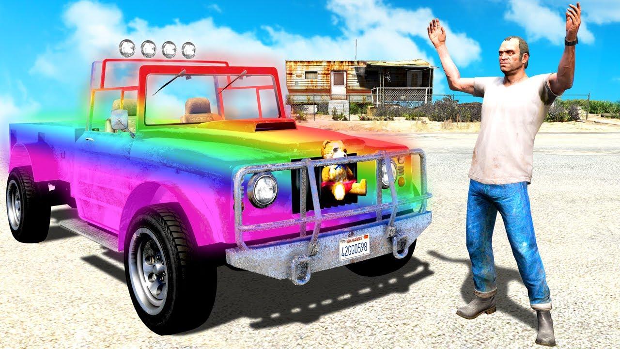 I ENCHANTED Trevor's CAR in GTA 5!