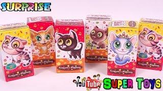Котята веселые пушистые зверята Игрушки сюрприз FreshToys/Kittens Toys Kinder Surprise