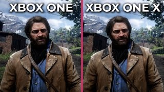 [4K] Red Dead Redemption 2 – Xbox One vs. Xbox One X Graphics Comparison
