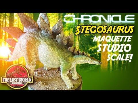 The Lost World : Jurassic Park™ Stegosaurus Maquette   Chronicle Collectibles   Studio Scale