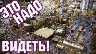 Смотреть видео ГРАНДМАКЕТ моя крутая поездка в Санкт-Петербург! Это надо видеть своими глазами! онлайн