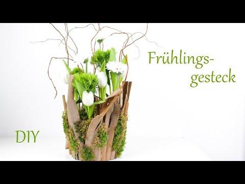 diy- -frühlingsgesteck-mit-tulpen-und-gerbera- -frühlingsdeko- -just-deko