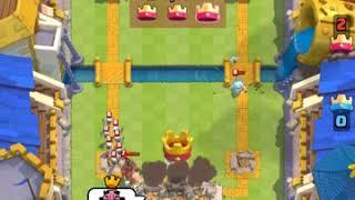 Clash Royal troll savaşlar attık