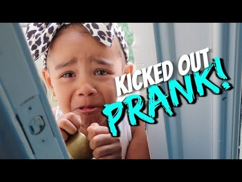 Thumbnail: Kicked Out The House PRANK On 3 Year Old (SHE CRIED)