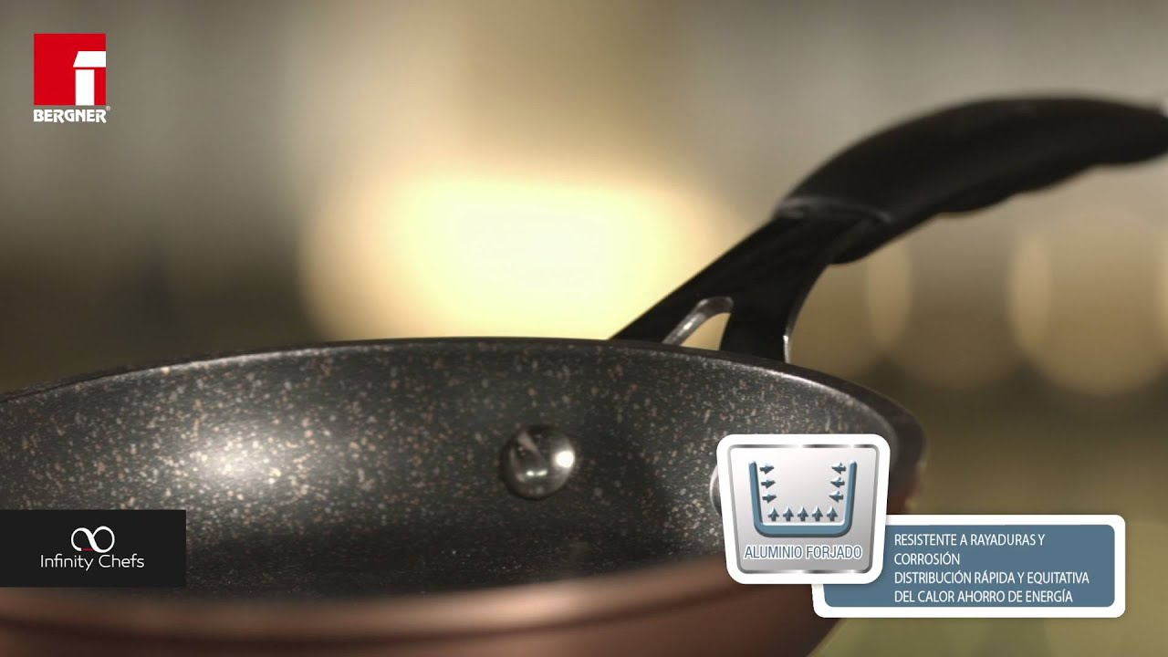 Copper collection by infinity chefs spanish youtube - Infinity chefs opiniones ...