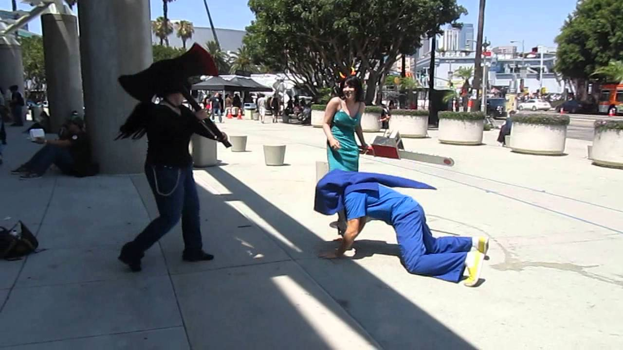 Homestuck Fight Anime Expo 2012